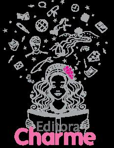 Logo Editora Charme - completo rosa